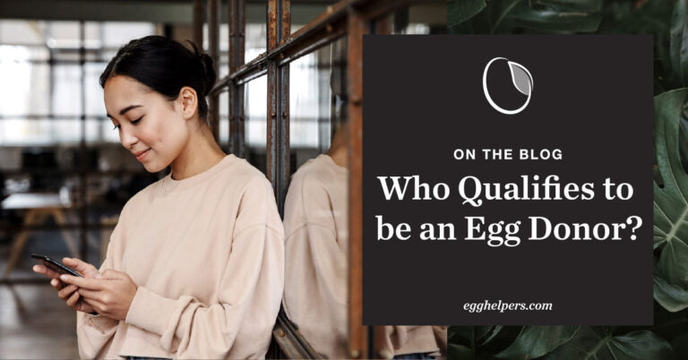 Who qualifies to be an egg donor?