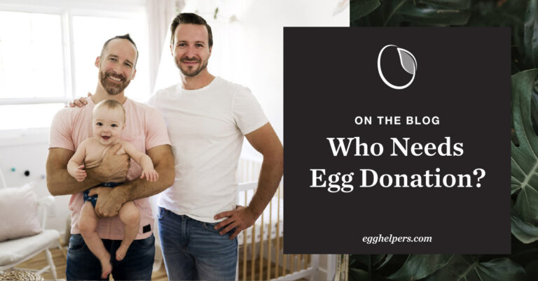 Who Needs egg donations?