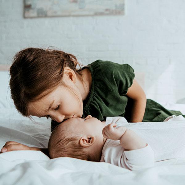 Parent with child born through surrogacy
